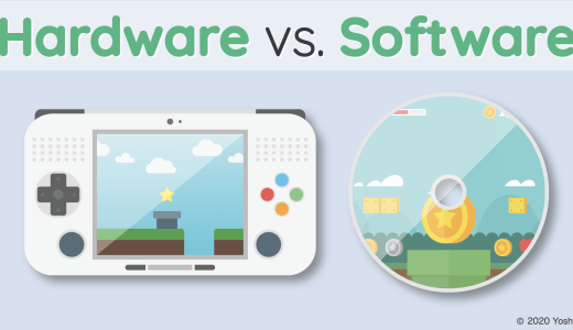 Hardware vs. Software ~Difference between ___wear~