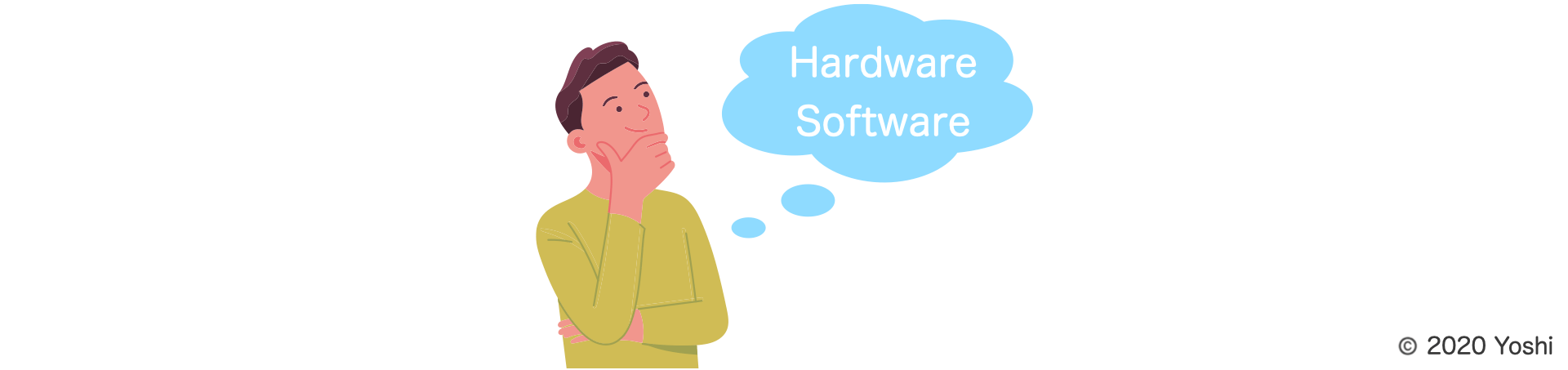 what do you imagine from hardware and software