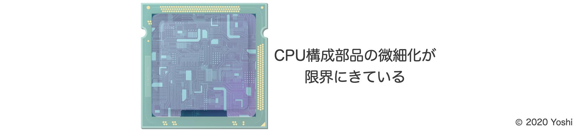 CPU半導体の微細化の限界